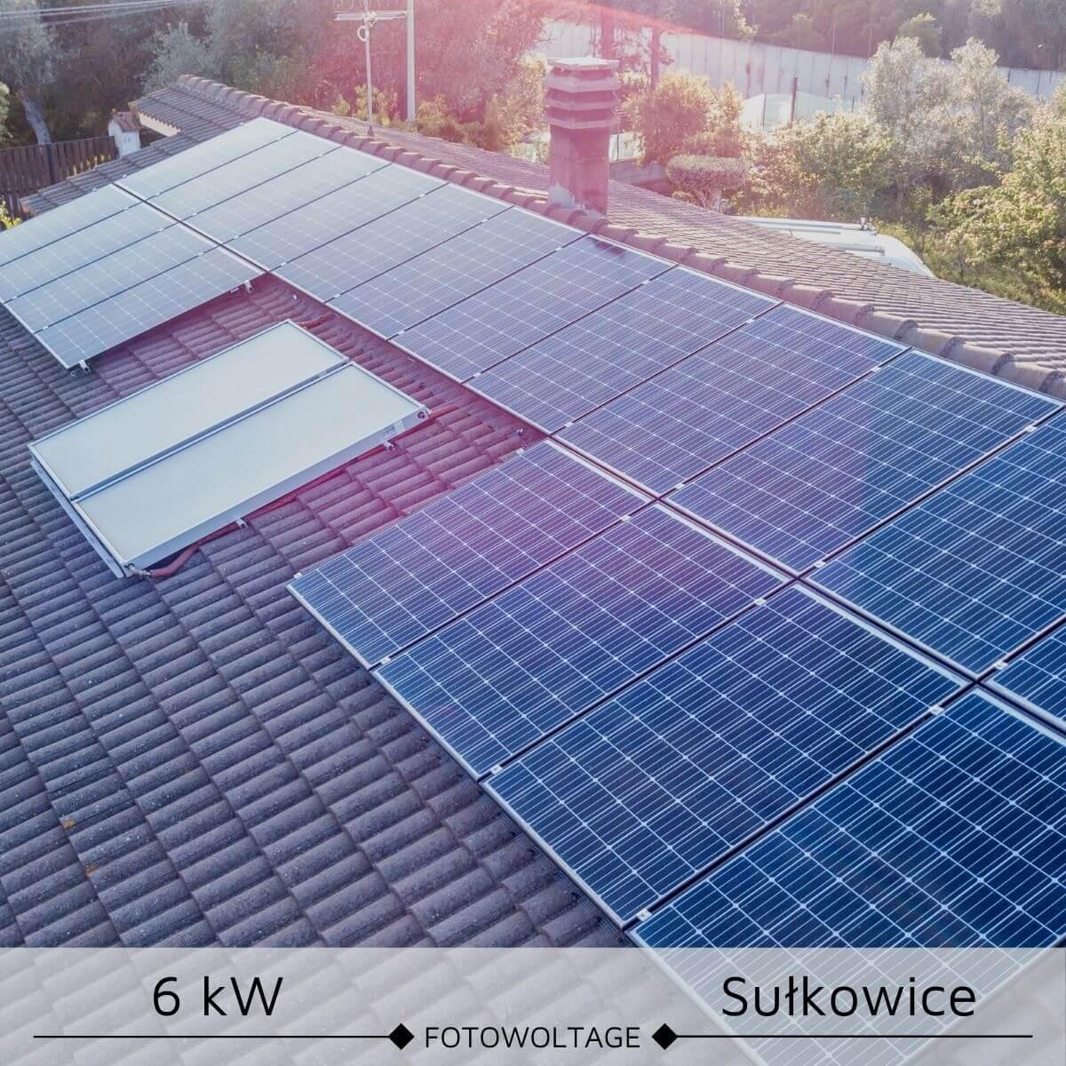 Elektrownia sloneczna o mocy 6 kW