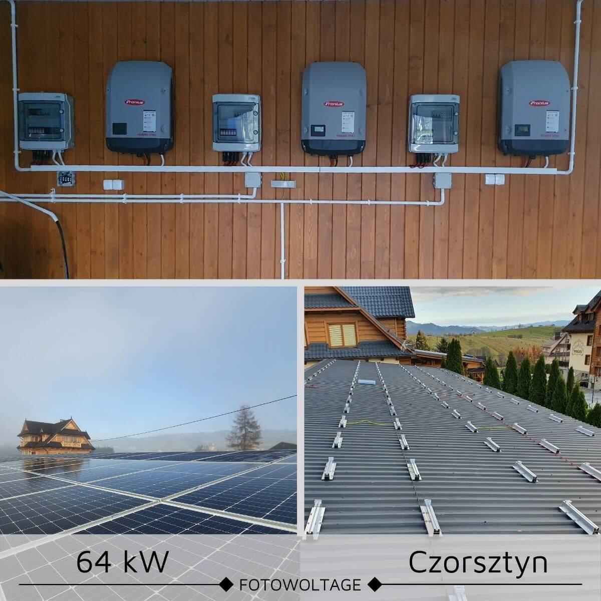 Elektrownie sloneczne Czorsztyn
